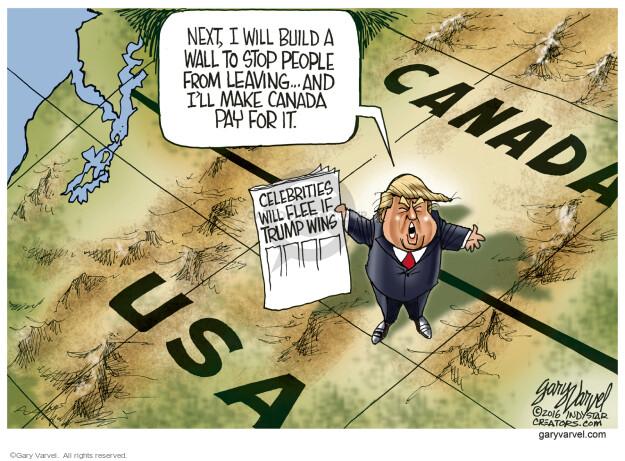 Cartoonist Gary Varvel  Gary Varvel's Editorial Cartoons 2016-03-07 wall
