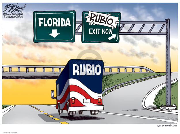 Gary Varvel  Gary Varvel's Editorial Cartoons 2016-03-10 highway