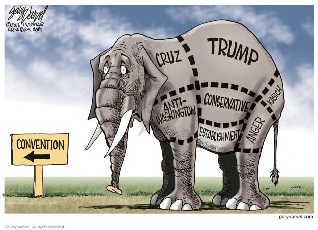 Gary Varvel  Gary Varvel's Editorial Cartoons 2016-03-20 voter frustration