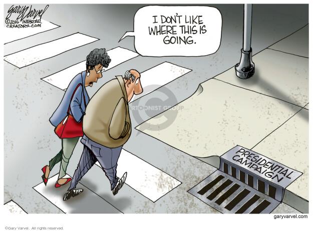 Cartoonist Gary Varvel  Gary Varvel's Editorial Cartoons 2016-03-31 behavior