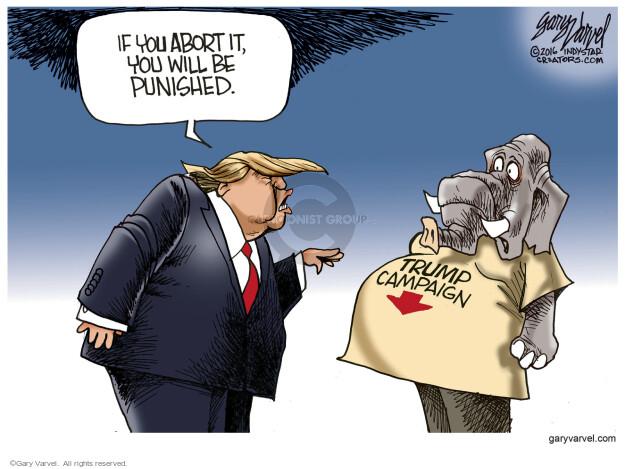 Cartoonist Gary Varvel  Gary Varvel's Editorial Cartoons 2016-04-01 establishment