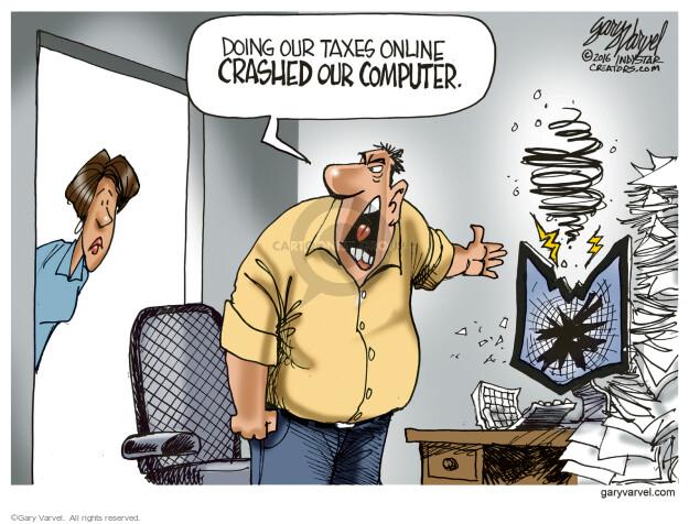 Cartoonist Gary Varvel  Gary Varvel's Editorial Cartoons 2016-04-17 software