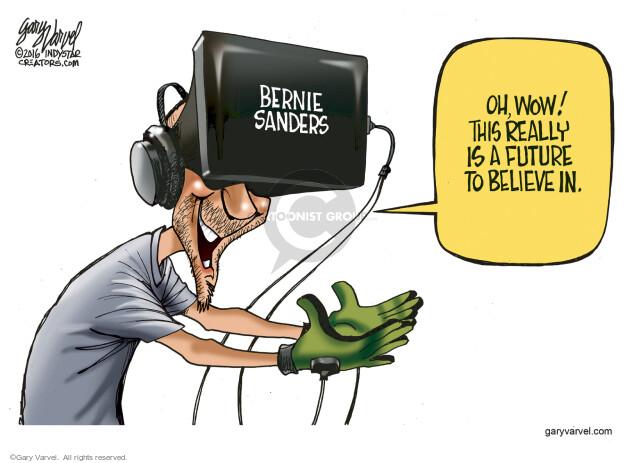Gary Varvel  Gary Varvel's Editorial Cartoons 2016-04-18 Bernie Sanders