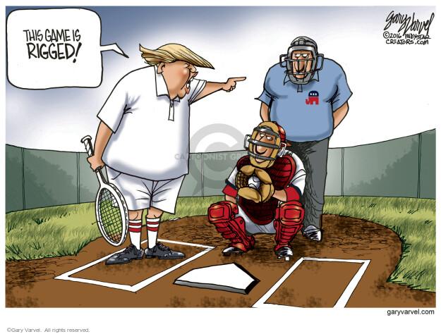Gary Varvel  Gary Varvel's Editorial Cartoons 2016-04-20 tennis