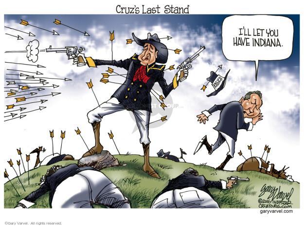 Gary Varvel  Gary Varvel's Editorial Cartoons 2016-04-27 GOP