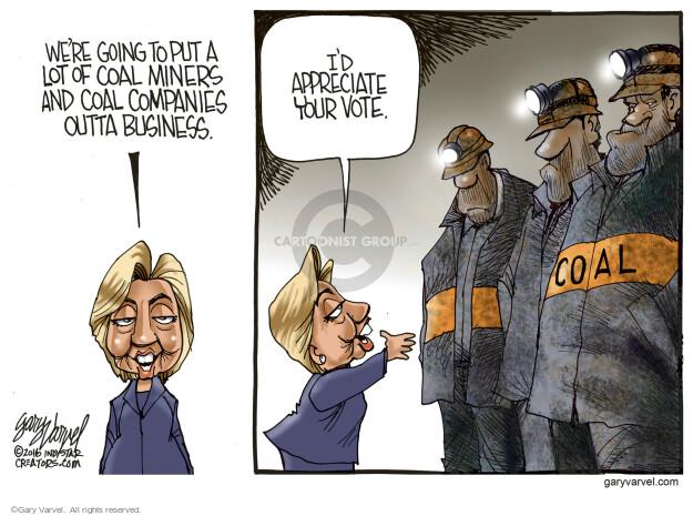 Cartoonist Gary Varvel  Gary Varvel's Editorial Cartoons 2016-05-11 put