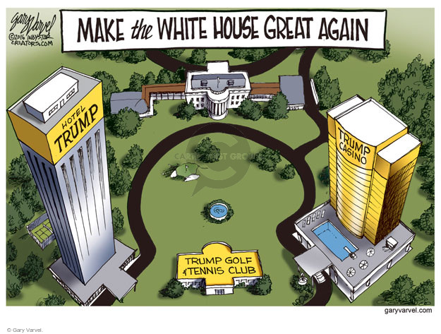 Cartoonist Gary Varvel  Gary Varvel's Editorial Cartoons 2016-05-16 building