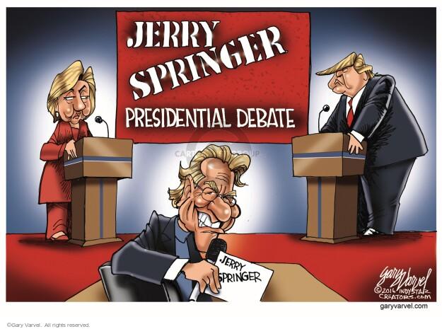 Gary Varvel  Gary Varvel's Editorial Cartoons 2016-05-20 debate