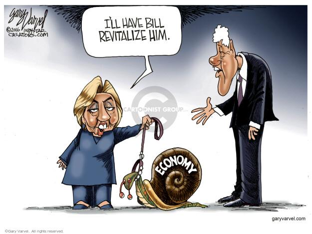 Cartoonist Gary Varvel  Gary Varvel's Editorial Cartoons 2016-05-22 economy