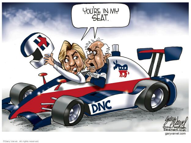 Gary Varvel  Gary Varvel's Editorial Cartoons 2016-05-23 Bernie Sanders