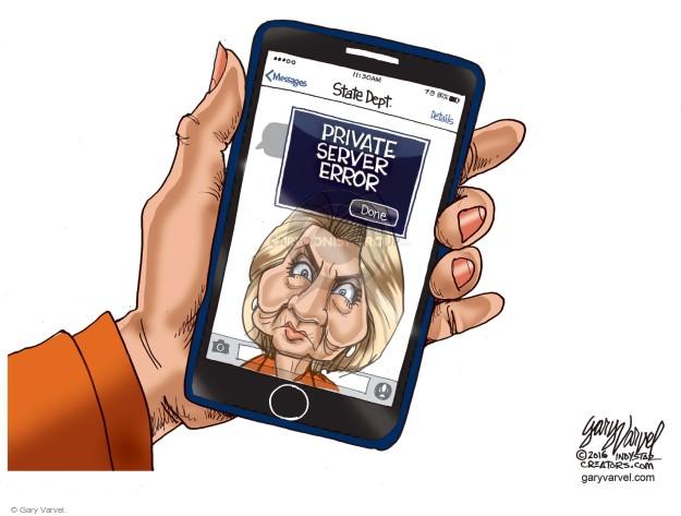 Gary Varvel  Gary Varvel's Editorial Cartoons 2016-05-27 inspector general