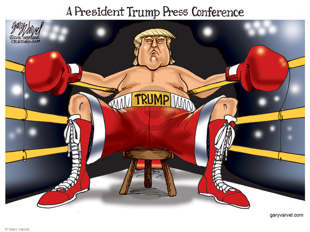 Gary Varvel  Gary Varvel's Editorial Cartoons 2016-06-05 boxing