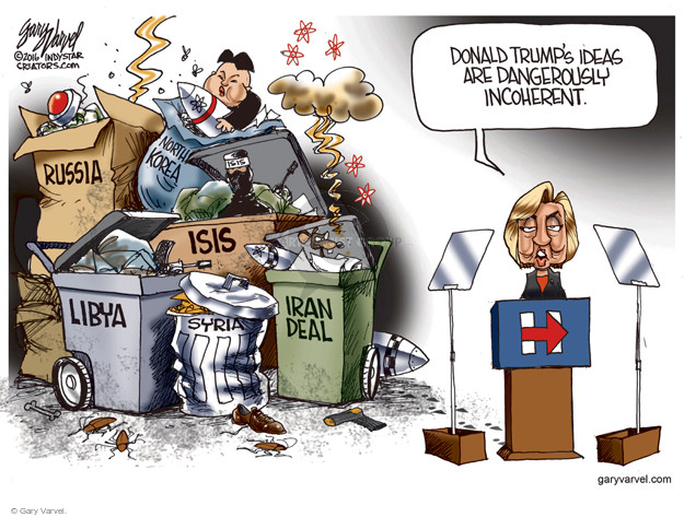 Cartoonist Gary Varvel  Gary Varvel's Editorial Cartoons 2016-06-06 Korea