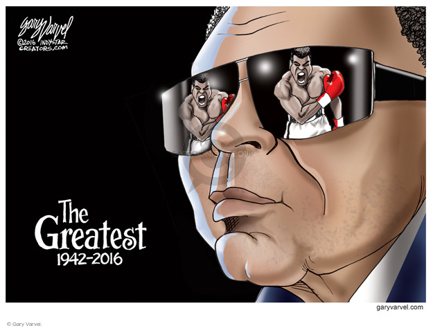 Gary Varvel  Gary Varvel's Editorial Cartoons 2016-06-07 boxing