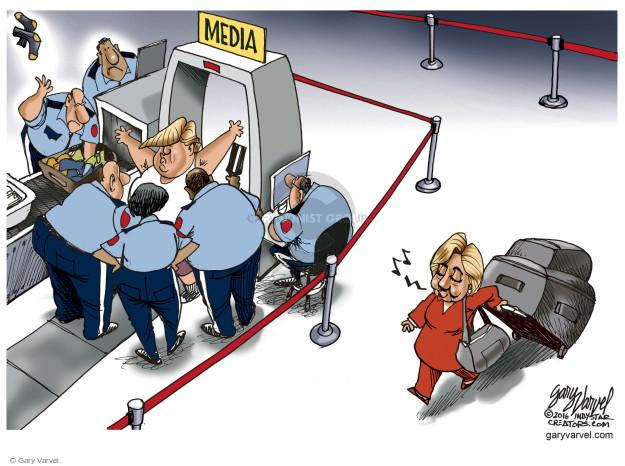 Gary Varvel  Gary Varvel's Editorial Cartoons 2016-06-17 media bias