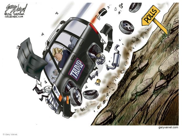 Cartoonist Gary Varvel  Gary Varvel's Editorial Cartoons 2016-06-19 hill