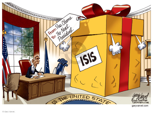Cartoonist Gary Varvel  Gary Varvel's Editorial Cartoons 2016-06-20 terrorism