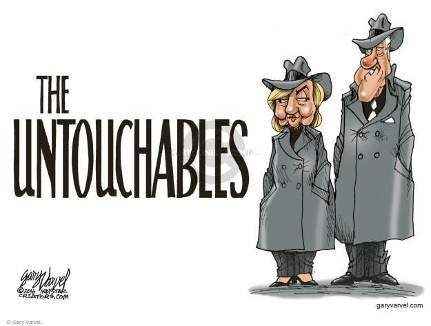 Cartoonist Gary Varvel  Gary Varvel's Editorial Cartoons 2016-07-07 Bill Clinton