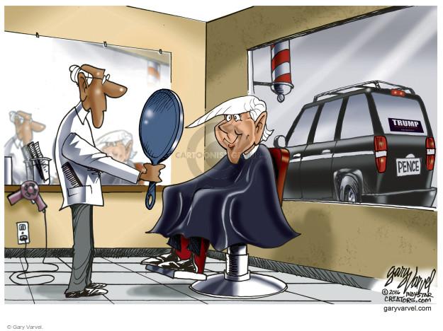 Cartoonist Gary Varvel  Gary Varvel's Editorial Cartoons 2016-07-08 Indiana
