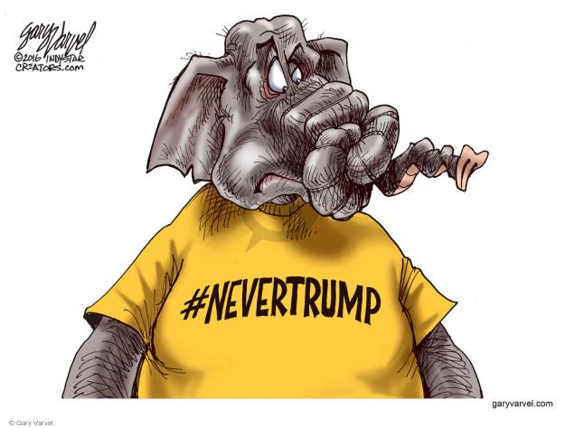Gary Varvel  Gary Varvel's Editorial Cartoons 2016-07-23 2016 Republican convention