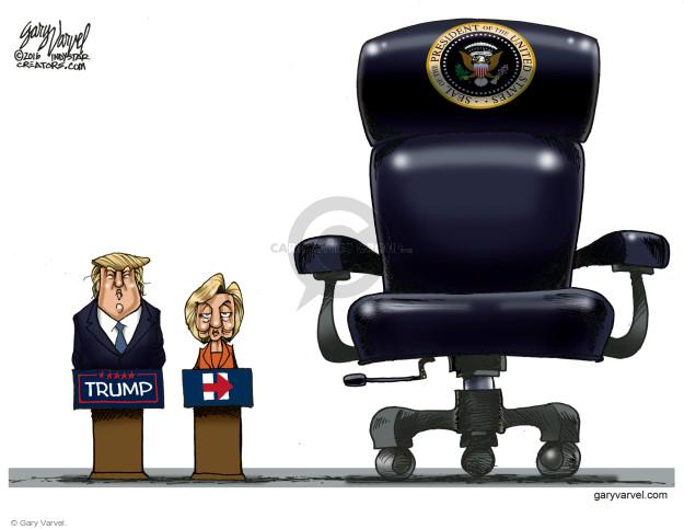 Gary Varvel  Gary Varvel's Editorial Cartoons 2016-08-09 president