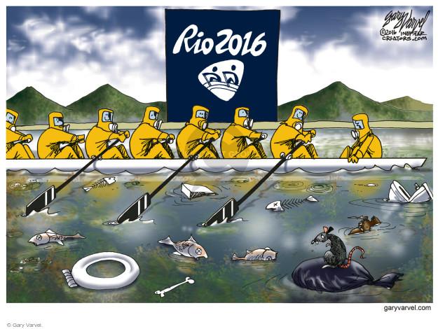 Gary Varvel  Gary Varvel's Editorial Cartoons 2016-08-10 Rio de Janeiro