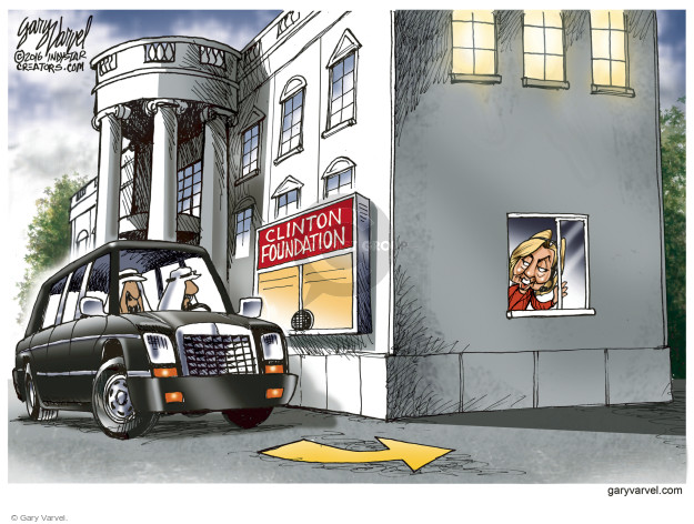 Cartoonist Gary Varvel  Gary Varvel's Editorial Cartoons 2016-08-12 contribution