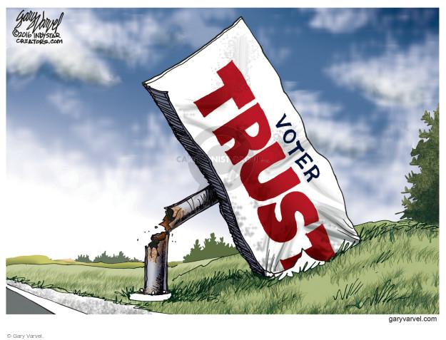 Gary Varvel  Gary Varvel's Editorial Cartoons 2016-08-25 policy