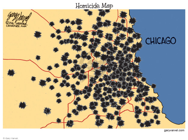Homicide Map. Chicago.