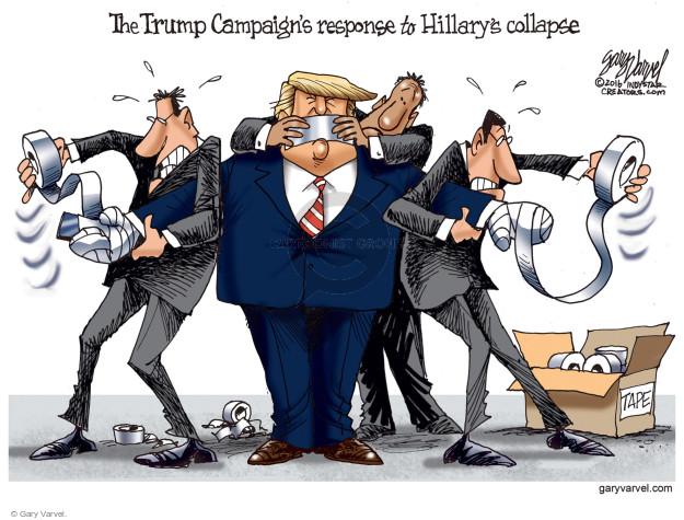 Gary Varvel  Gary Varvel's Editorial Cartoons 2016-09-13 collapse