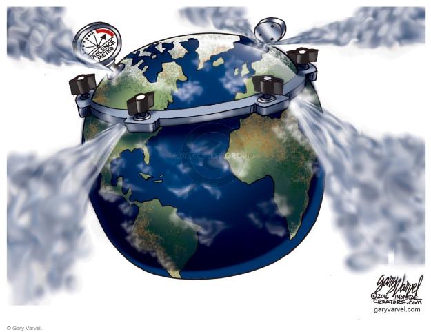 Cartoonist Gary Varvel  Gary Varvel's Editorial Cartoons 2016-09-23 planet