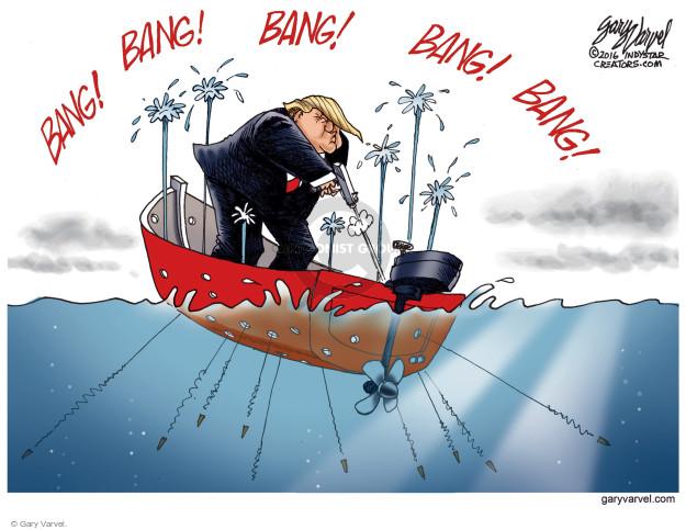 Cartoonist Gary Varvel  Gary Varvel's Editorial Cartoons 2016-10-04 GOP