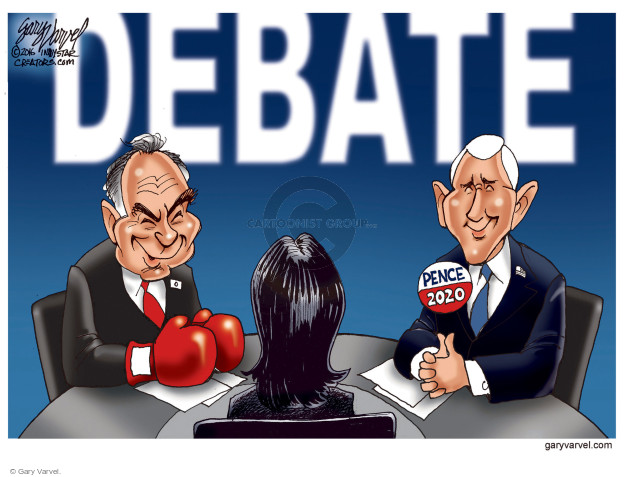 Gary Varvel  Gary Varvel's Editorial Cartoons 2016-10-06 boxing