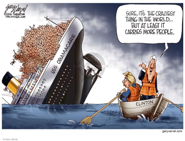 Cartoonist Gary Varvel  Gary Varvel's Editorial Cartoons 2016-10-07 Barack Obama