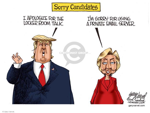 Gary Varvel  Gary Varvel's Editorial Cartoons 2016-10-14 state election