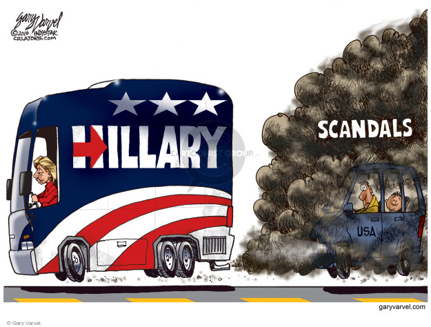 Gary Varvel  Gary Varvel's Editorial Cartoons 2016-10-24 state election