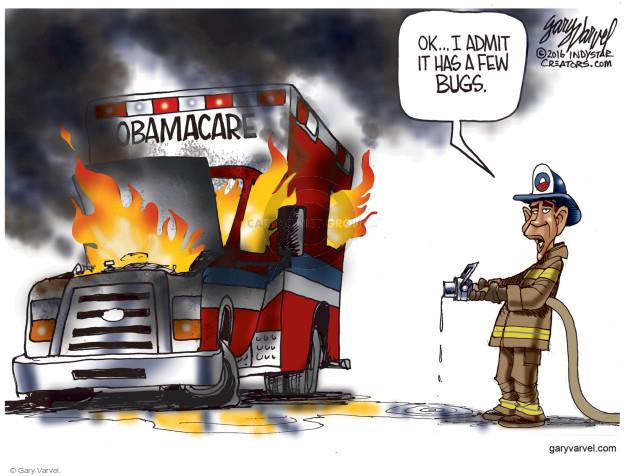 Gary Varvel  Gary Varvel's Editorial Cartoons 2016-10-27 president