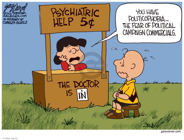Gary Varvel  Gary Varvel's Editorial Cartoons 2016-10-28 counsel