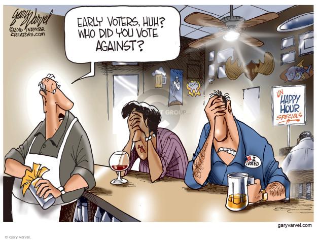 Gary Varvel  Gary Varvel's Editorial Cartoons 2016-11-02 special
