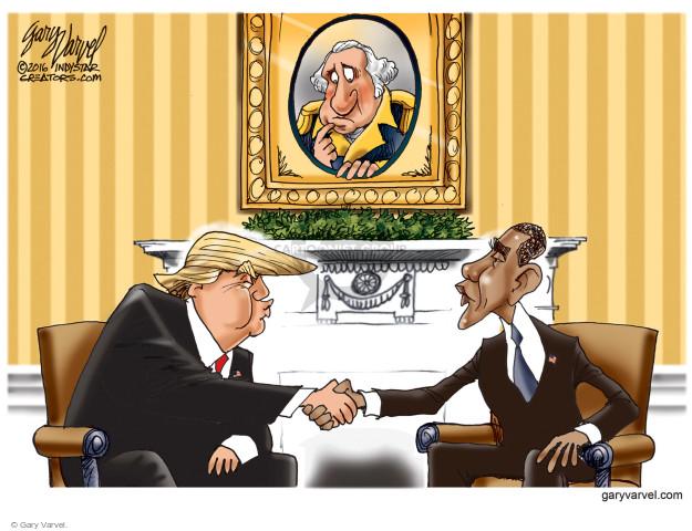 Cartoonist Gary Varvel  Gary Varvel's Editorial Cartoons 2016-11-14 GOP