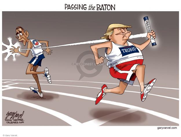 Cartoonist Gary Varvel  Gary Varvel's Editorial Cartoons 2016-11-20 GOP