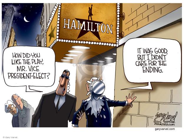 Gary Varvel  Gary Varvel's Editorial Cartoons 2016-11-22 president