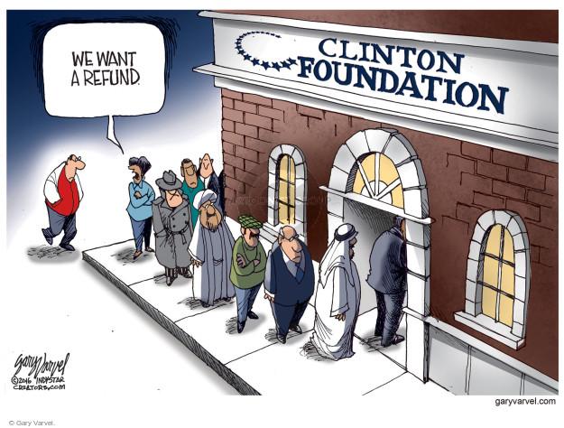 Cartoonist Gary Varvel  Gary Varvel's Editorial Cartoons 2016-11-27 result