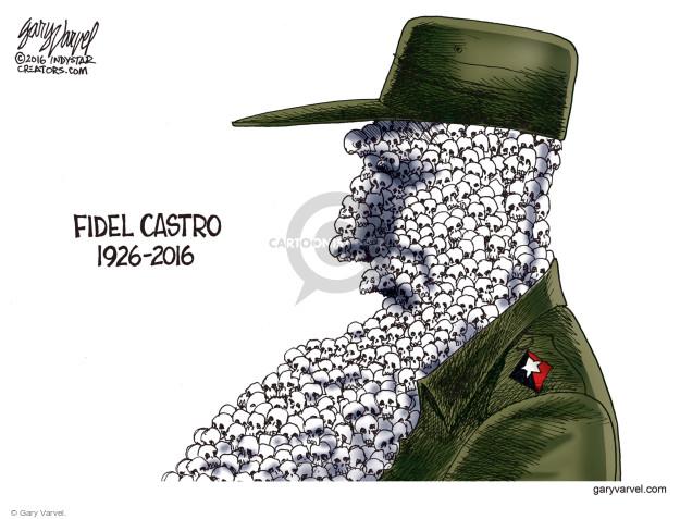 Cartoonist Gary Varvel  Gary Varvel's Editorial Cartoons 2016-11-29 legacy