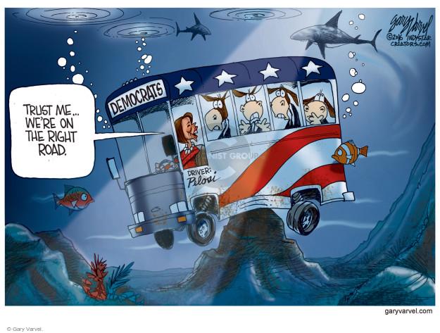 Cartoonist Gary Varvel  Gary Varvel's Editorial Cartoons 2016-12-01 house minority leader