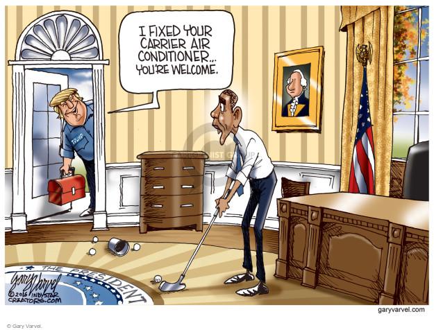 Cartoonist Gary Varvel  Gary Varvel's Editorial Cartoons 2016-12-02 job