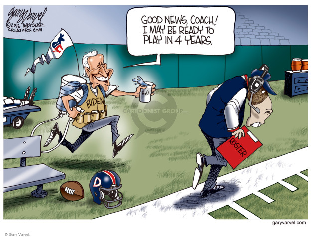 Cartoonist Gary Varvel  Gary Varvel's Editorial Cartoons 2016-12-08 democratic