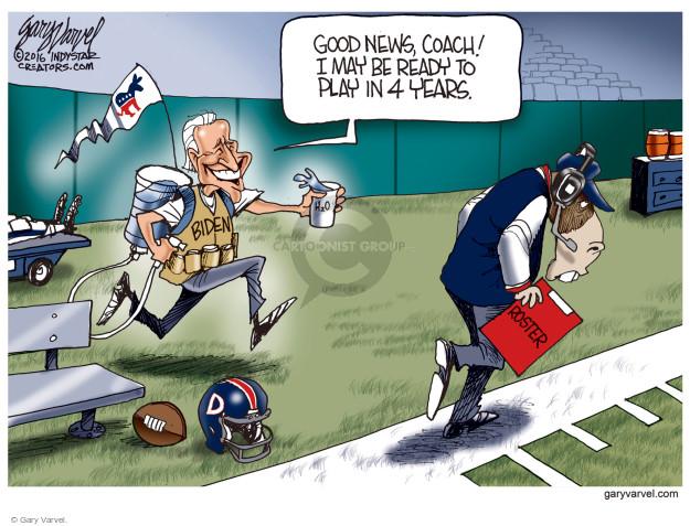 Gary Varvel  Gary Varvel's Editorial Cartoons 2016-12-08 Joe Biden