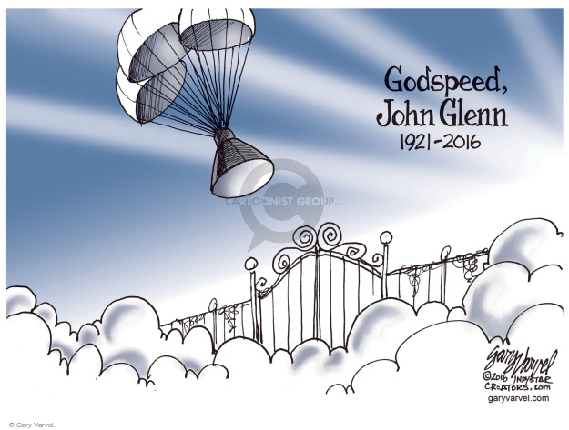 Cartoonist Gary Varvel  Gary Varvel's Editorial Cartoons 2016-12-10 John