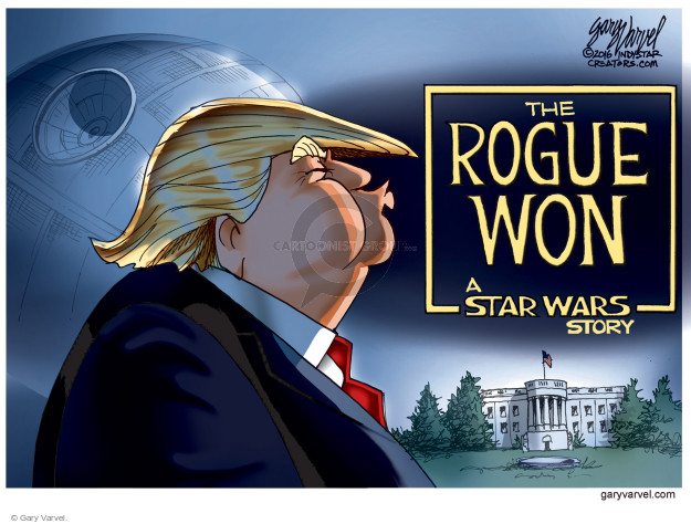 The Rogue Won. A Star Wars Story.